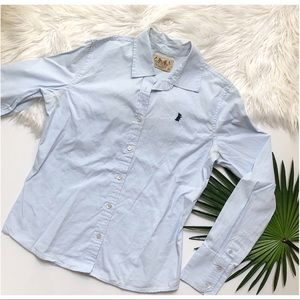[Juicy Couture] Blue Button Down Shirt